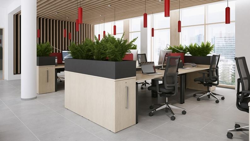 OKA PlanterBox Aufsatz in Metallgrau